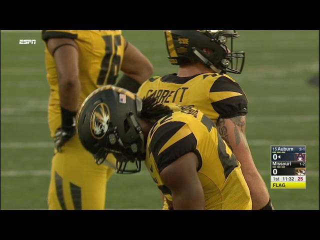 2017 NCAA Football Week 4 Auburn at Mizzou