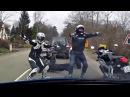 😀 Байкеры Жгут ! Танцы на дорогах 😝 !