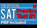 New SAT - Official Test 1 - Math Sect. 3 - Q11-20