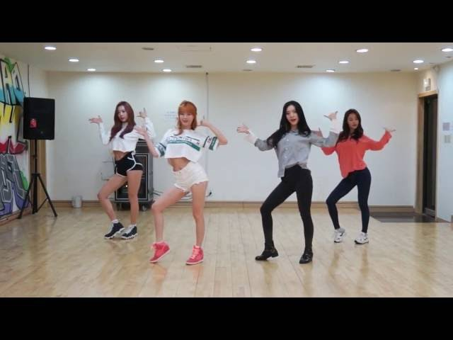 Dalshabet 달샤벳 금토일 FRI SAT SUN Dance Practice Mirrored