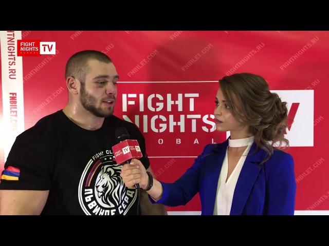 Николай Данилов. Слова после боя. FN GLOBAL 77 (13 октября, Сургут).