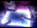 Водная анимация мастер-класс для детей. Эбру - танцующие краски