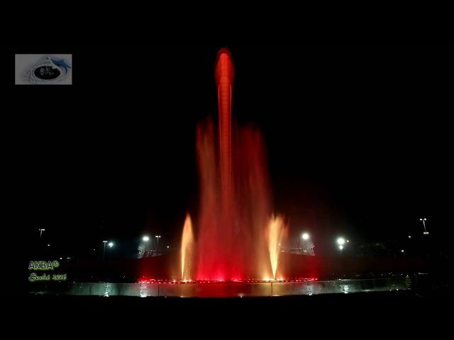The Show Must Go On (Final Release)поющий фонтанСочи Олимпийский парк
