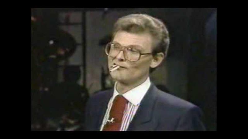 Multiple Cigarette Eating Guy! Tom Mullica - Holy Smokes!