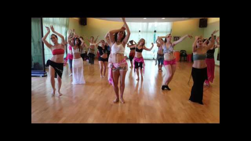 Orit Maftsir bellydance workshop in Italy Bellysimo weeklong Palmanova