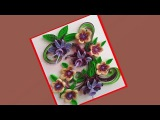 Paper quilling Greeting card Paper Quilling Art