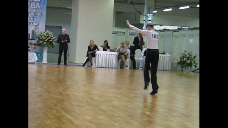 Соревнование по спортивным бальным танцам Ча ча ча джайв