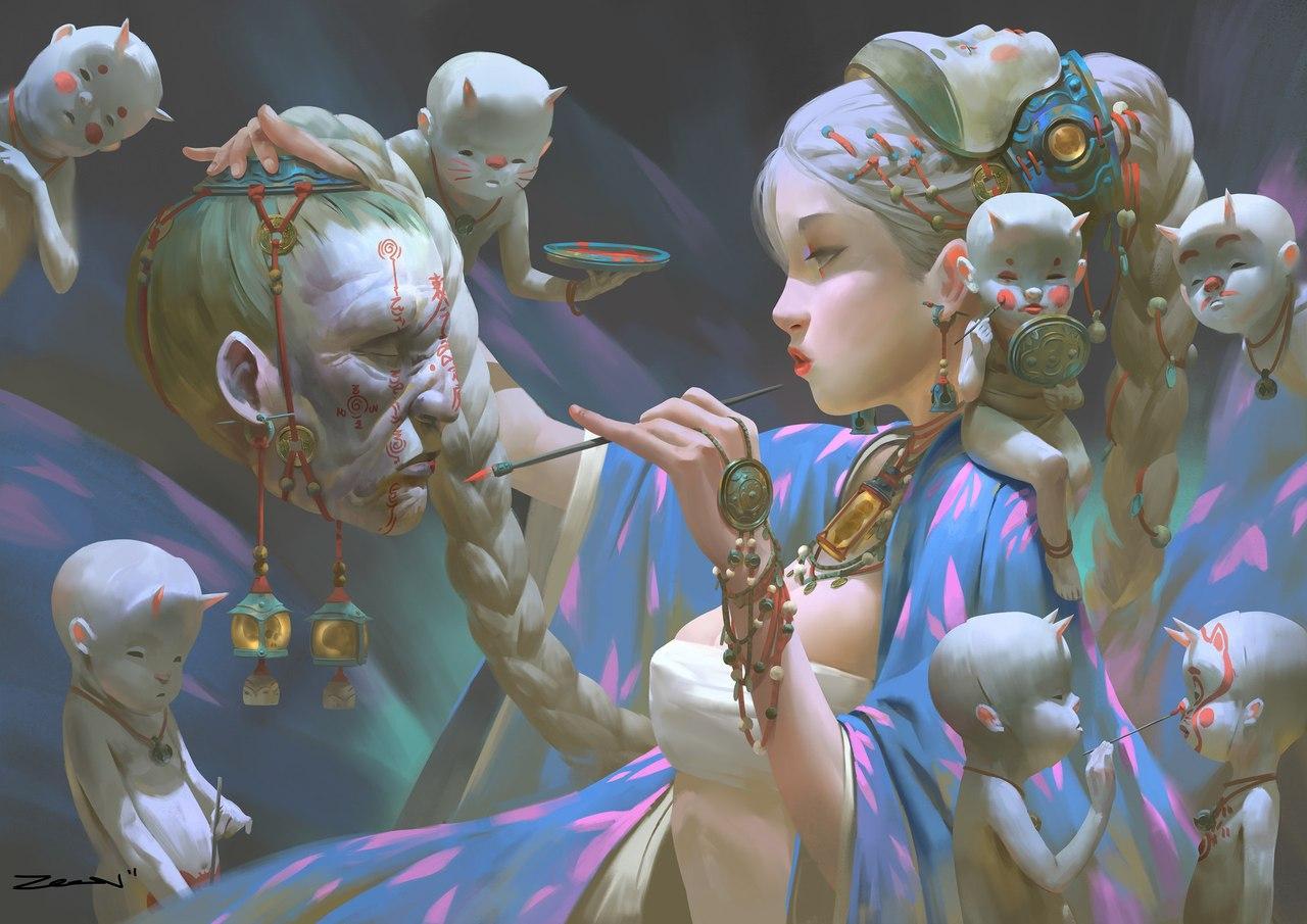 kCxgf3VZgFg - Малайский иллюстратор создает шедевры в жанре хентай