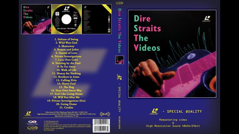 Dire Straits - The Videos.1992.(LDRip) ностальгия молодость музыка воспоминания 90е