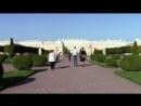 Петергоф,Верхний Сад.Видеоселфи у фонтана Дубовый