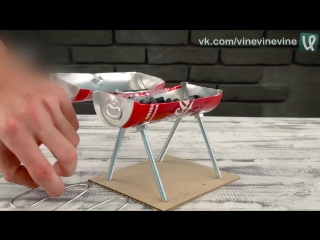 Мини-барбекюшница