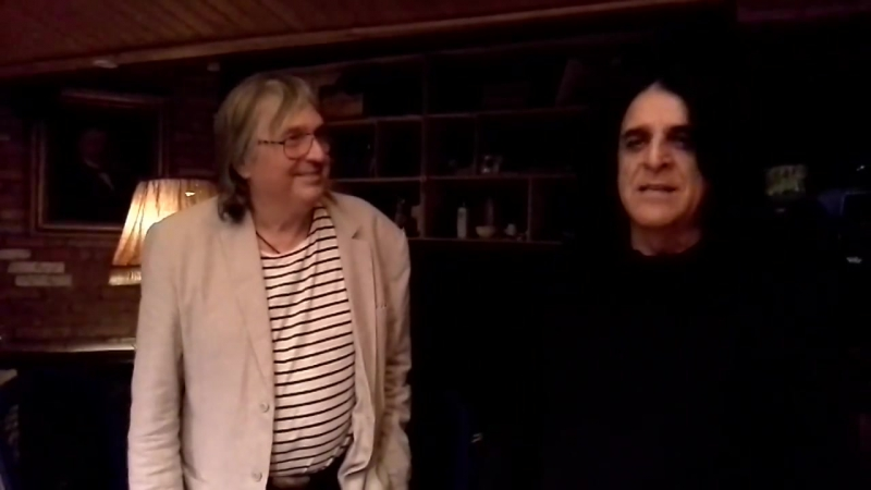 Killing Joke rehearsing with Raven on the 10 year anniversary since his passing