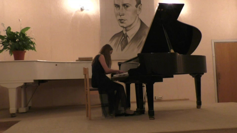 Родной город Долгопрудный,Волшебные звуки Фортепиано (Детская школа искусств) 05 декабря 2017 года