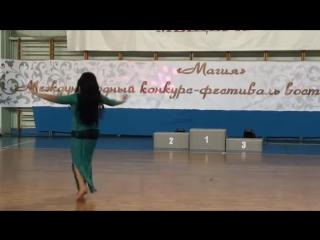 Анастасия Гара 'Беледи'. Восточный танец. 15007