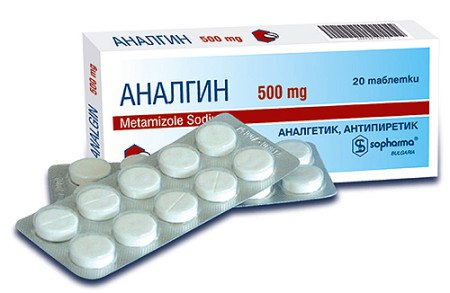 Обезболивающие таблетки анальгин
