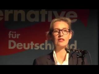 Dr- Alice Weidel -AfD- --- Deutsche haben keine Lust mehr auf die von Merkel geschaffenen Probleme