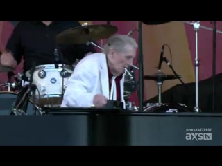 Jerry Lee Lewi - New Orleans Jazz Heritage Festival 2015