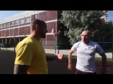 Круговая тренировка на улице от Андрея Басынина — комплекс упражнений на турнике и брусьях (воркаут)