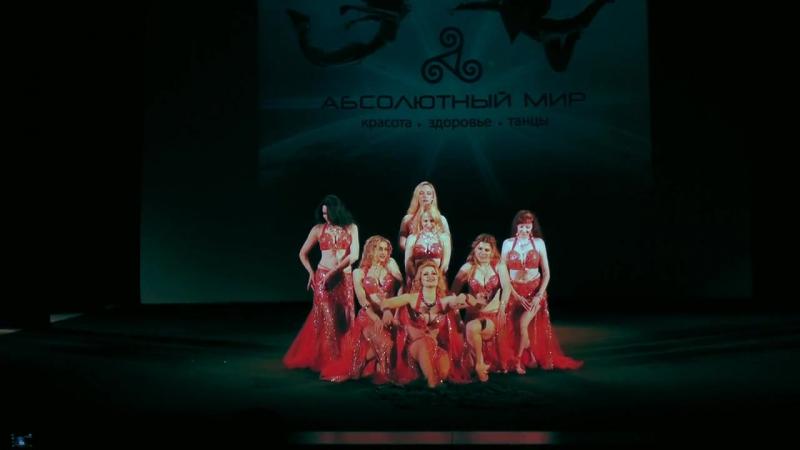 Ансамбль восточного танца Саламандра Тысяча и одна ночь