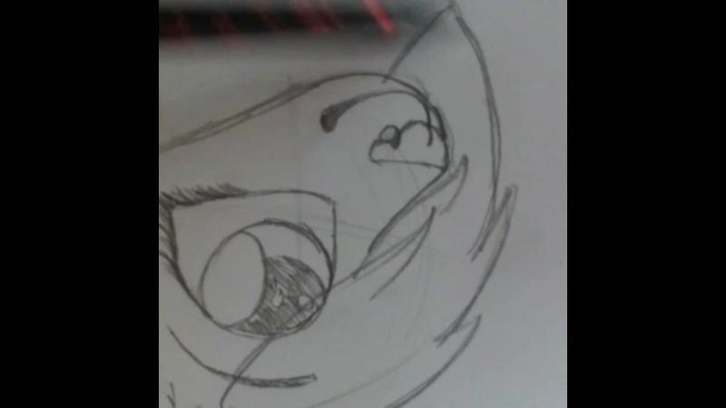 как рисовать Фуррию волка