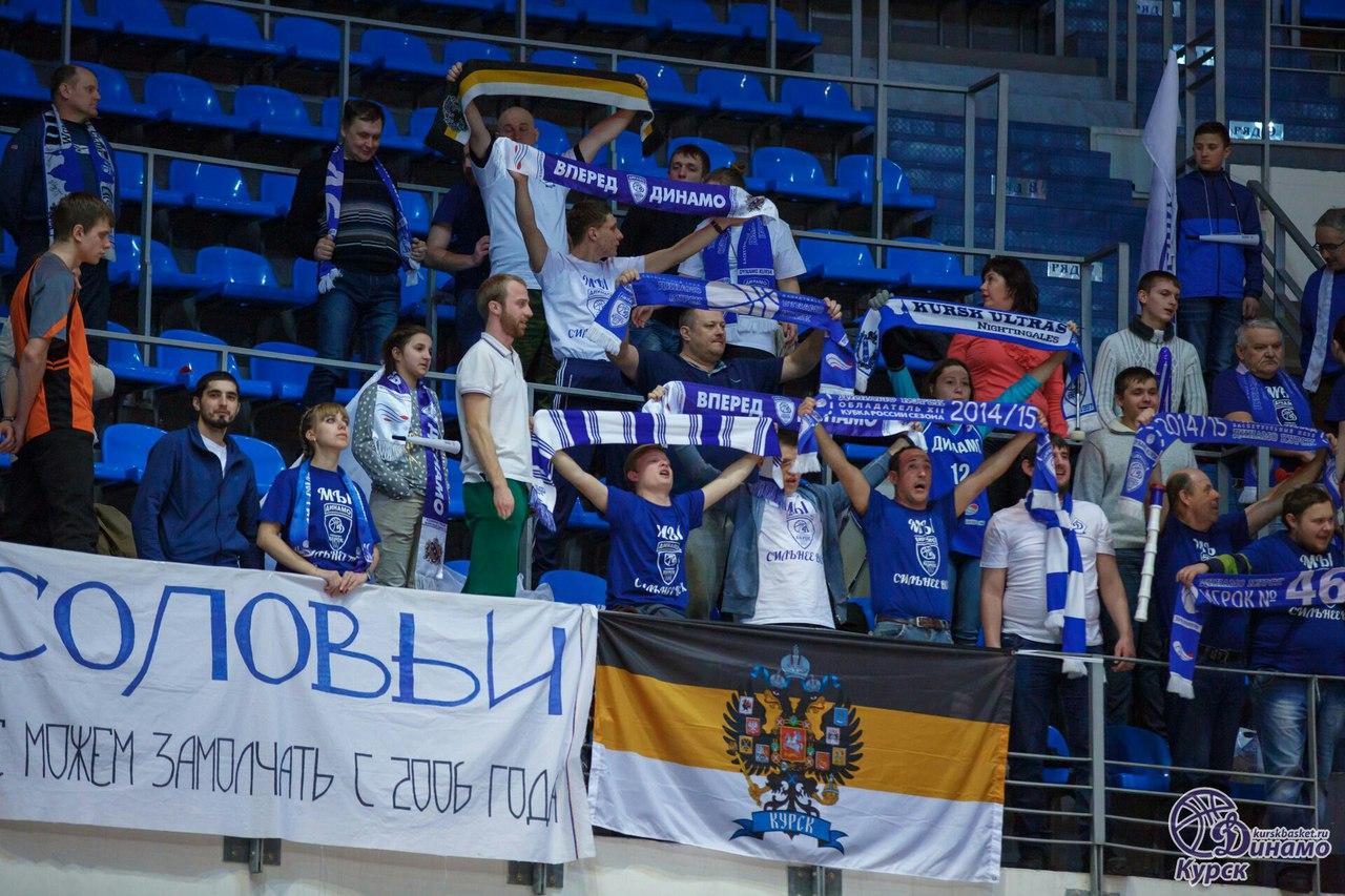 Курское «Динамо» сразится за путевку в финал чемпионата России
