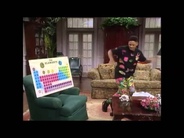 The Fresh Prince of Bel-Air - Song of chemical elements by Will Smith