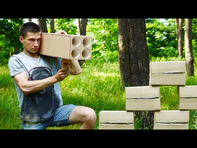 How to Make Powerful Weapon 4 Barreled Rocket Launcher at Home