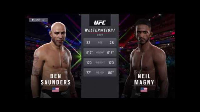 UFL 29. WW TITLE FIGHT. Ben Saunders (koss_yo) vs Niel Magny (Opkolopokus)3