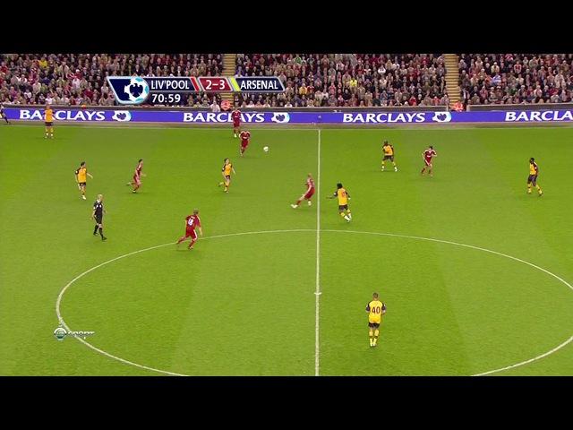 Легендарный матч Аршавина за Арсенал 2009. 2 тайм