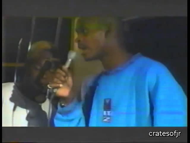 Smif N Wessun, Evil Dee and Heltah Skeltah Recording Dah Shinin' in '95