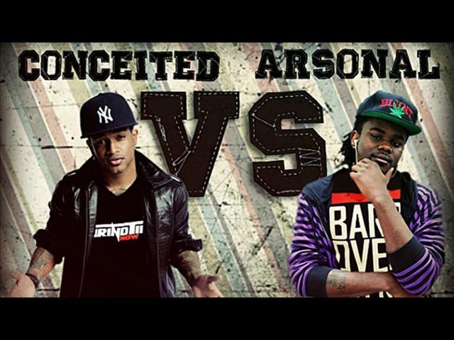 GTN Rap Battle-Conceited vs Arsonal (Full Battle)
