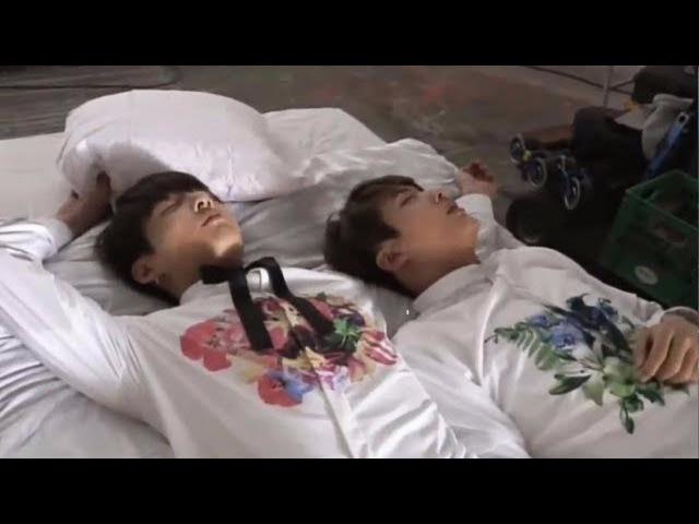 BTS (방탄소년단) sleep cute moments 2