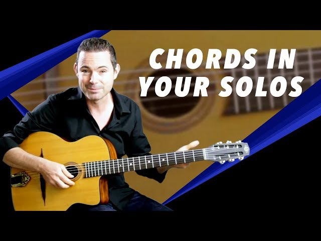 How To Use Chords In Your Solos - Gypsy Jazz Guitar Secrets Lesson