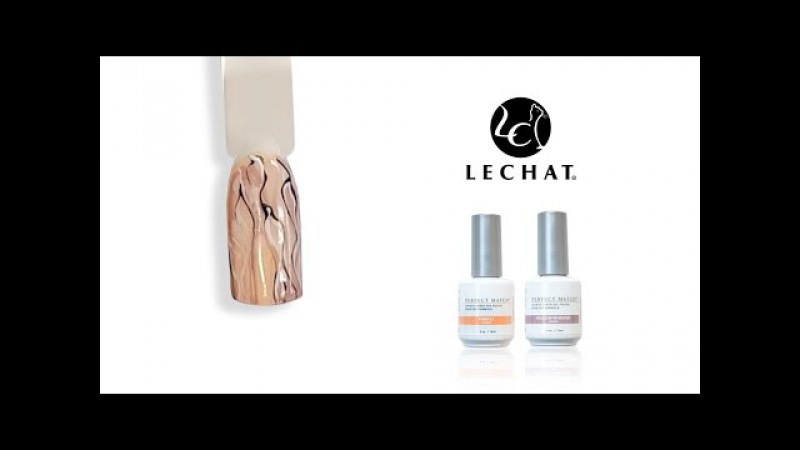 LeChat Watercolor Nail Tutorial - NEW Fairy Collection
