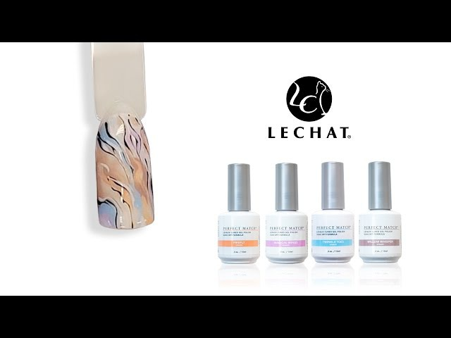 LeChat Nail Tutorial - Fairy Collection Waves