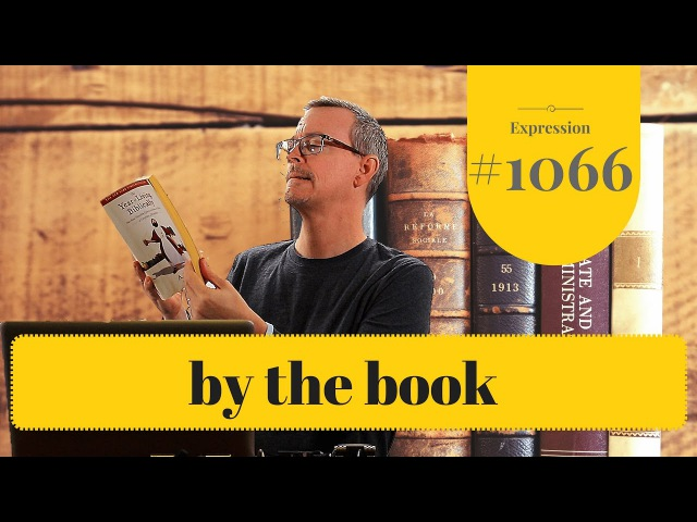 Learn English: Daily Easy English 1066: by the book