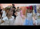 Новогодний утренник в детском саду. Танец Бабка Ёжек