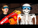 Bad Kids & Giant Skeleton Johny Johny Yes Papa song baby Nursery Rhymes & Learn Colors for Children