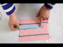 Как определить плотность вязания калибровочной линейкой