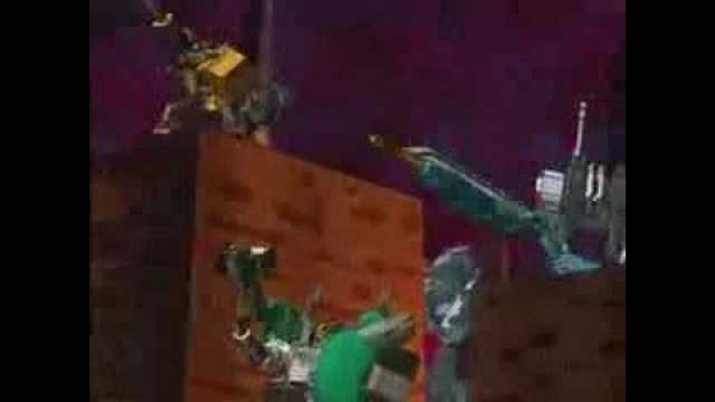 Transformers Cybertron Dark Claw vs Savage Claw Sonic Wing