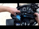 Installing Cigarette Lighter Socket on Burgman 400 for GPS & Phone Charger