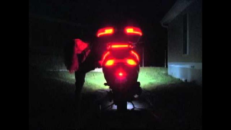 Brake Light Flasher on Suzuki Burgman