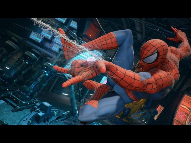Marvel vs. Capcom Infinite: 12 Minutes of Spider-Man, Gamora Gameplay - SDCC 2017