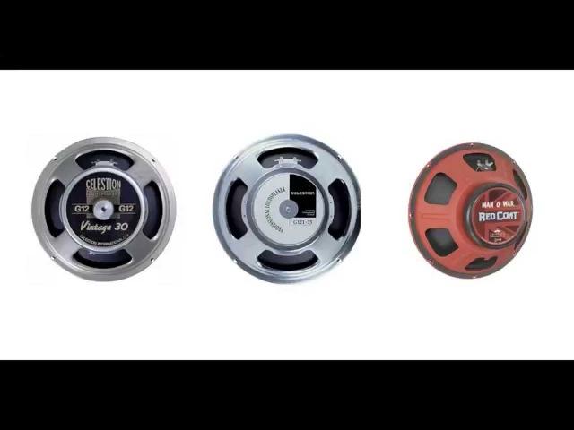 SPEAKER SHOOTOUT-CELESTION V30-G12T-75 EMINENCE MANOWAR metal tone