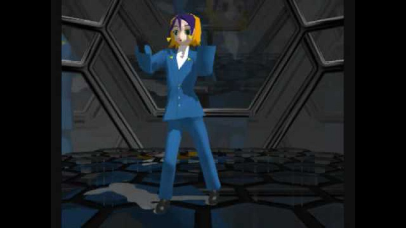 MMD Newcomer, Nougami Neuro (from Majin Tantei Nougami Neuro) Strobo Nights