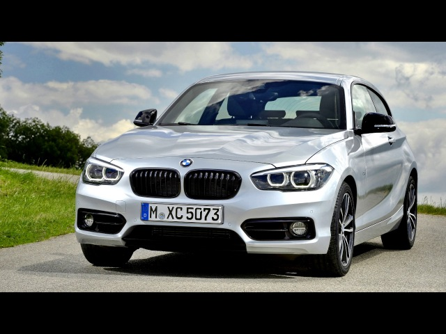 BMW 120d Sport Line 3 door Worldwide F21 2017