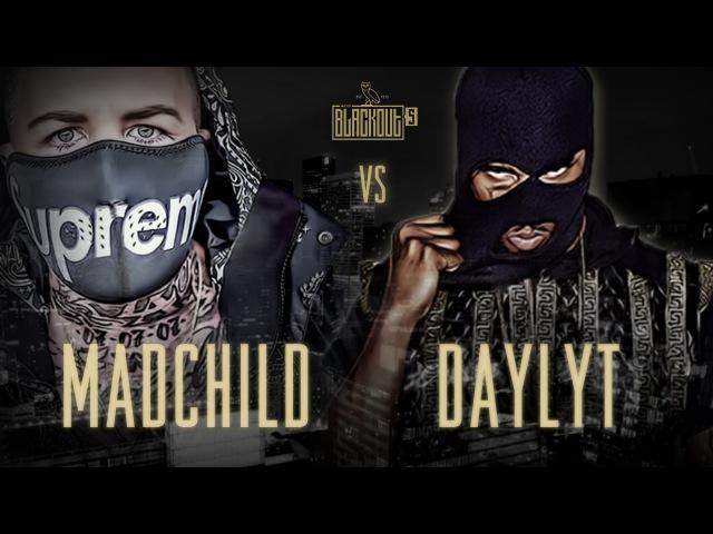 KOTD - Rap Battle - Madchild vs Daylyt | Blackout5