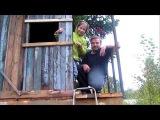 Построил домик на пихте для Мелиссы.