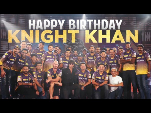 Instagram post by Kolkata Knight Riders • Nov 1, 2017 at 7:37pm UTC