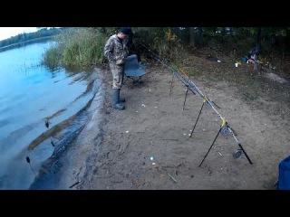 Резинка для ловли леща. Как сделать резинку. How to make a rubber band for catching bream 2016 год